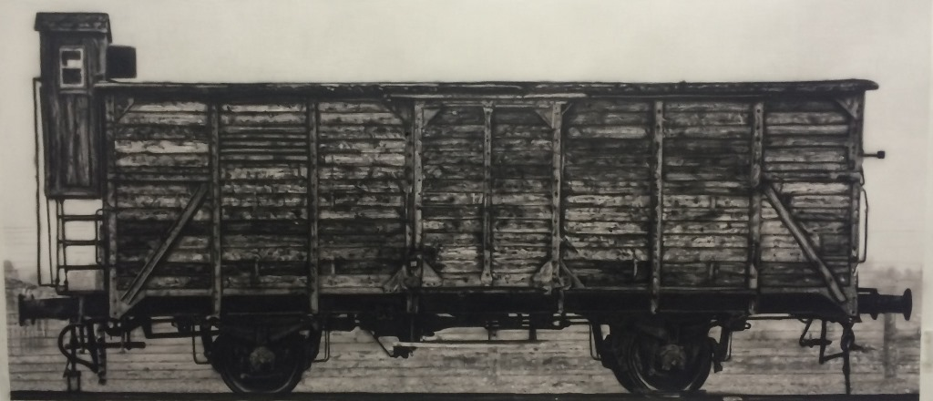 2015, Arca, 100x210 cm, charcoal and airbrush on acid-free paper