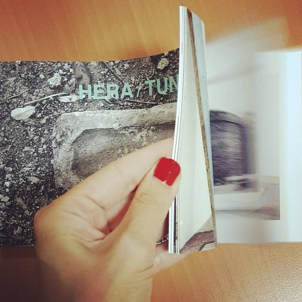 …Because We Are Here Where We Are Not… // ...Çünkü Biz Olmadığımız Yerdeyiz... Exhibition booklet // Photo: @ddyucel