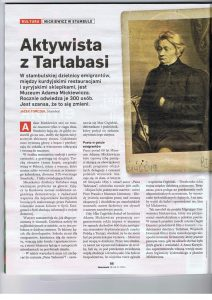 Newsweek Poland'da Adam Mickiewicz Performansı